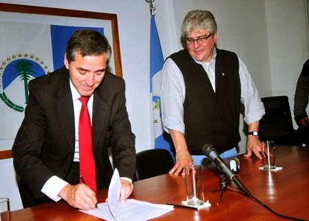 secretario general del CEC de Neuquén Sergio Rodríguez
