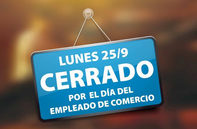 Día del Empleado de Comercio 2017 25 de septiembre